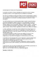Après l'élection de la droite à Bayonne : communiqué du PCF Bayonnais