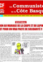 LE JOURNAL LES COMMUNISTES DE LA COTE BASQUE FEVRIER 2014