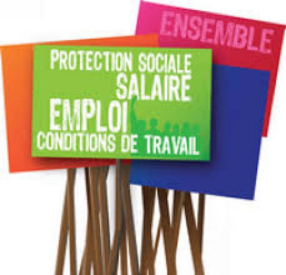 Soutien à l'appel syndical pour une mobilisation interprofessionnelle - MANIF 6 FEVRIER 11H PL ste Ursule BAYONNE